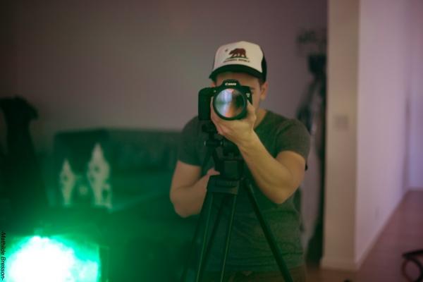Filmmaker Rudy Vermorel