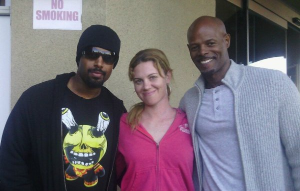 The Wayans brothers out and about in LA