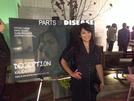 Nazli K Lou in 'Parts Of Disease'